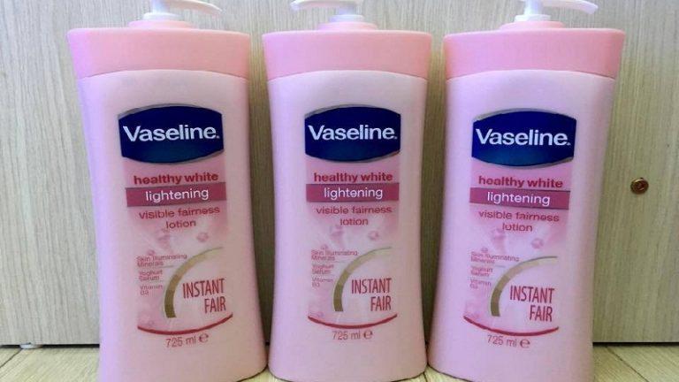 Sữa dưỡng thể Vaseline có trắng không